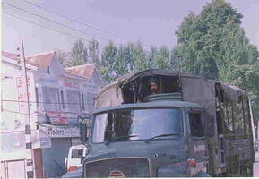 Soldier presence in Srinagar