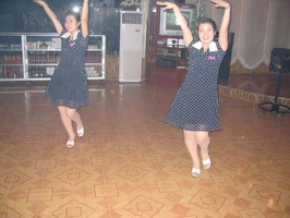 Dancing North Koreans